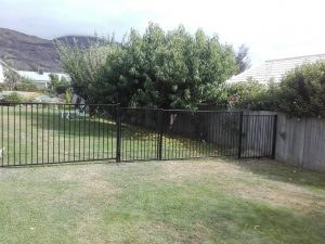 security fence built by Hands on Handyman