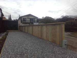 Timber pailing fence hands on handyman