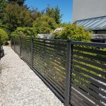 modern style fence