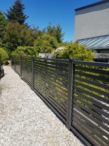 modern style fence