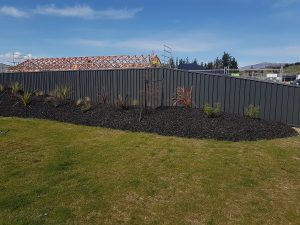 Colour Panel fence builders Wanaka