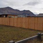 Macrocarpa fence installers in Wanaka