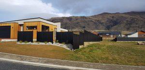 Colour Steel Fence Panels