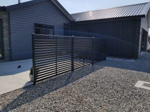 Colour steel, colour slat combo