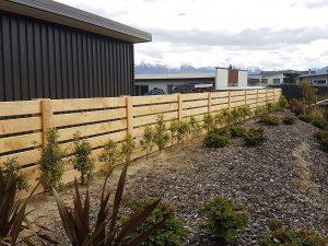 Wooden Fences - Wanaka Fencing