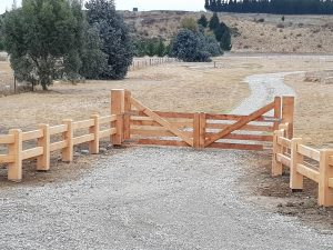 Post and Rail Gate
