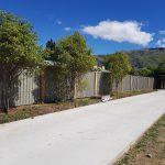Shingle Colour Panel Fence